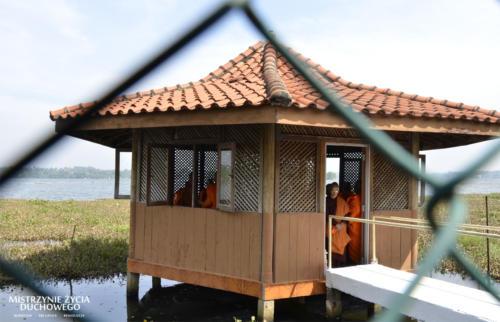 International Theravada bhikkhuni ordination in Sakyadhita Training and Meditation Center.