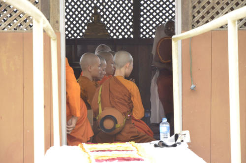 International Theravada bhikkhuni ordination in Sakyadhita Training and Meditation Center.
